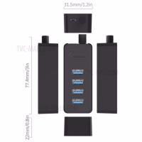 Bộ chia USB HUB 4 cổng USB 3.0 Orico W5P-U3-30