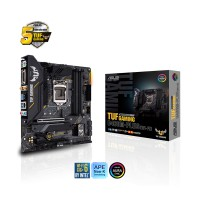 Main ASUS TUF B460M-PLUS GAMING (WIFI) (Intel B460, Socket 1200, m-ATX, 4 khe Ram DDR4)