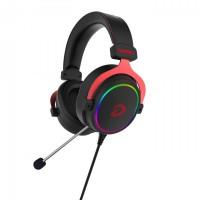 Tai nghe Gaming Dareu EH925 7.1 RGB BlackRed