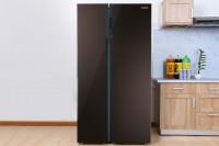 Tủ lạnh Samsung SBS Inverter 548 lít RS552NRUA9M/SV