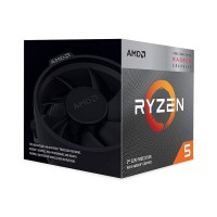 Bộ VXL AMD Ryzen 5 3400G (3.7GHz turbo up to 4.2GHz, 4 nhân 8 luồng, 4MB Cache, Radeon Vega 11, 65W) - Socket AMD AM4