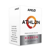 Bộ VXL AMD Athlon 3000G / 3.5 GHz / 4 MB Cache L3 / 2 cores / 4 threads/ 12nm / Socket AM4/ Radeon Vega3/ 35W