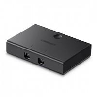 Bộ chia máy in 1 ra 2 cổng USB 2.0 Ugreen 30345
