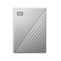 Ổ cứng gắn ngoài HDD Western Digital My Passport Ultra 2Tb Type-C & USB3.0 (Màu Bạc)