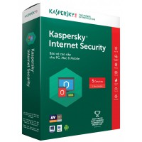 Thẻ Kaspersky Internet Security - 5 PCs