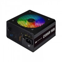 Nguồn máy tính Corsair CX550F 550W RGB Black 80 Plus Bronze - Full Modul -CP-9020216-NA