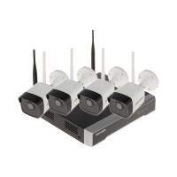 BỘ KIT Camera IP Wifi Hikvision NK42W0H(D) ( 4 mắt + Đầu ghi)
