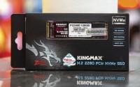 Ổ cứng thể rắn SSD Kingmax Zeus PQ3480 128GB M.2 2280 PCIe NVMe Gen 3x4 (Đọc 1800MB/s - Ghi 550MB/s)