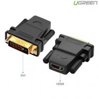 Cáp chuyển đổi DVI-D to HDMI Ugreen 20124