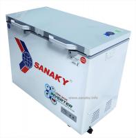 TỦ ĐÔNG SANAKY INVERTER VH-2899W4K ( 220 Lít Dàn Đồng )