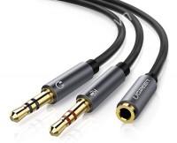 Cáp chia Audio 3.5mm 2 đầu ra Ugreen 10790