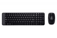 Bộ bàn phím chuột không dây Logitech MK220