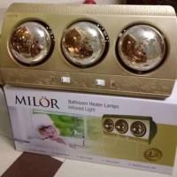Đèn sưởi  phòng tắm 3 bóng Milor ML6003