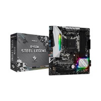 Main ASROCK B450M STEEL LEGEND (AMD B450, Socket AM4, m-ATX, 4 khe RAM DDR4)